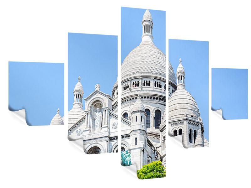 Poster 5-teilig Paris- Montmartre