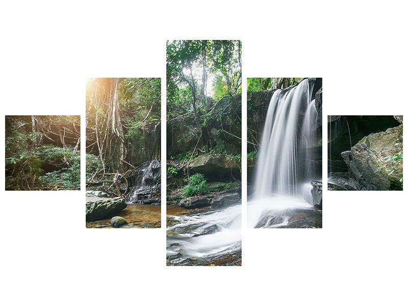 Poster 5-teilig Naturschauspiel