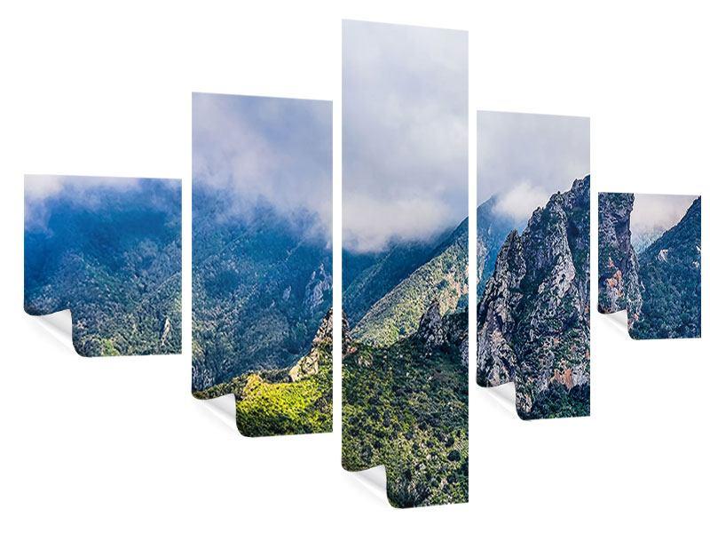 Poster 5-teilig Der stille Berg