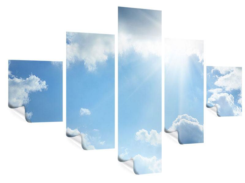 Poster 5-teilig Himmelshoffnung