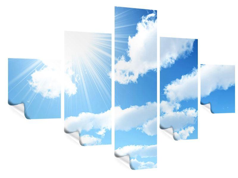 Poster 5-teilig Am Himmel