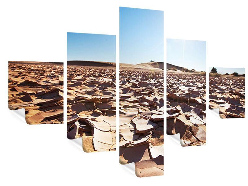 Poster 5-teilig Dürre