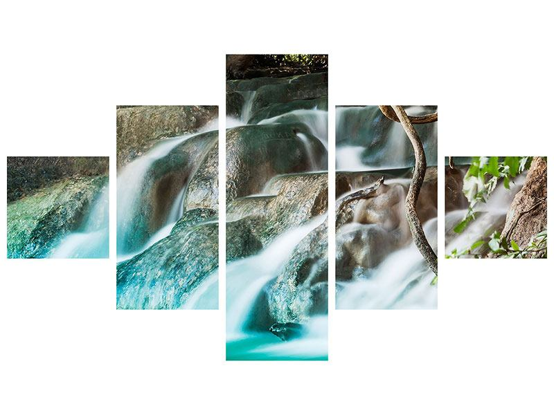 Poster 5-teilig Am Fluss des Lebens