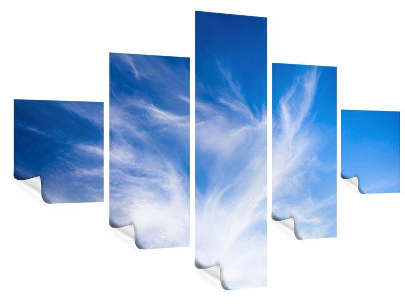 Poster 5-teilig Schleierwolken
