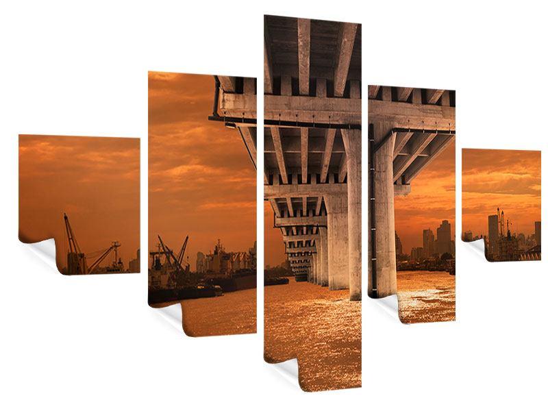 Poster 5-teilig Die Brücke