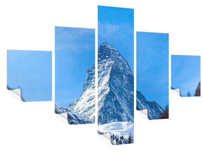 Poster 5-teilig Das majestätische Matterhorn
