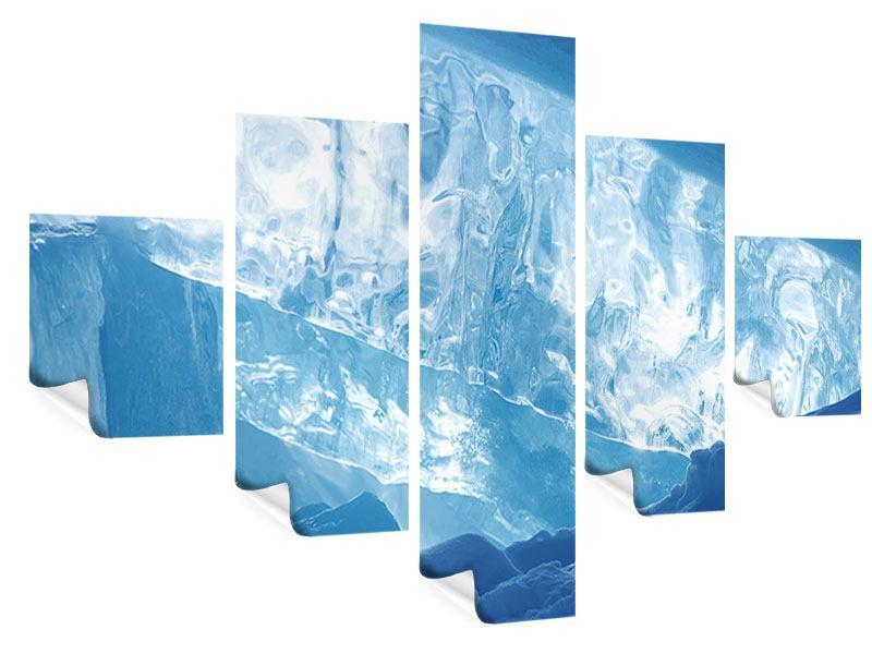 Poster 5-teilig Baikalsee-Eis