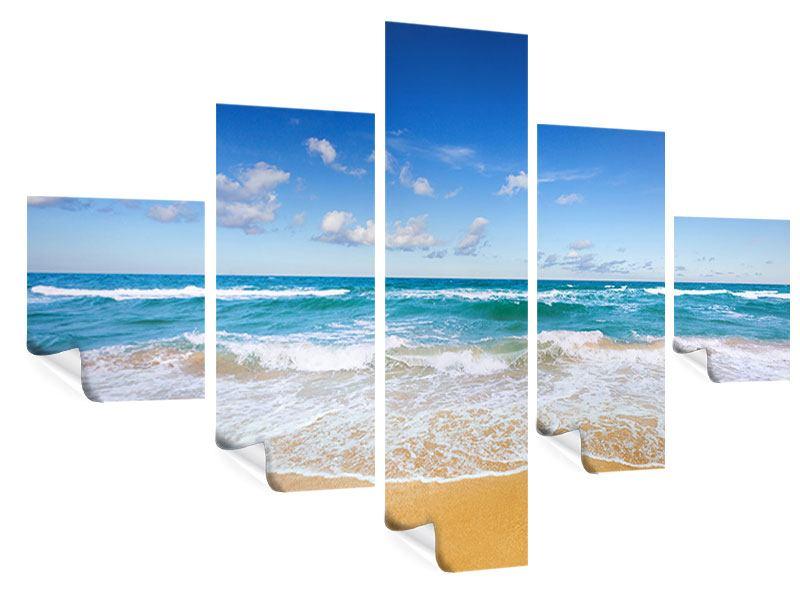 Poster 5-teilig Die Gezeiten und das Meer