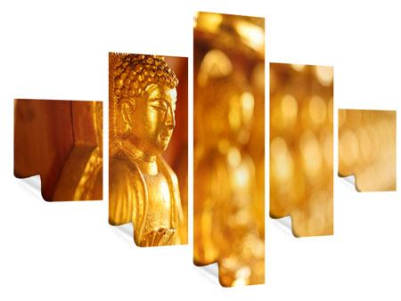 Poster 5-teilig Buddhas