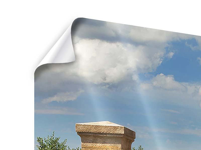 Poster 5-teilig modern Lavendel-Garten