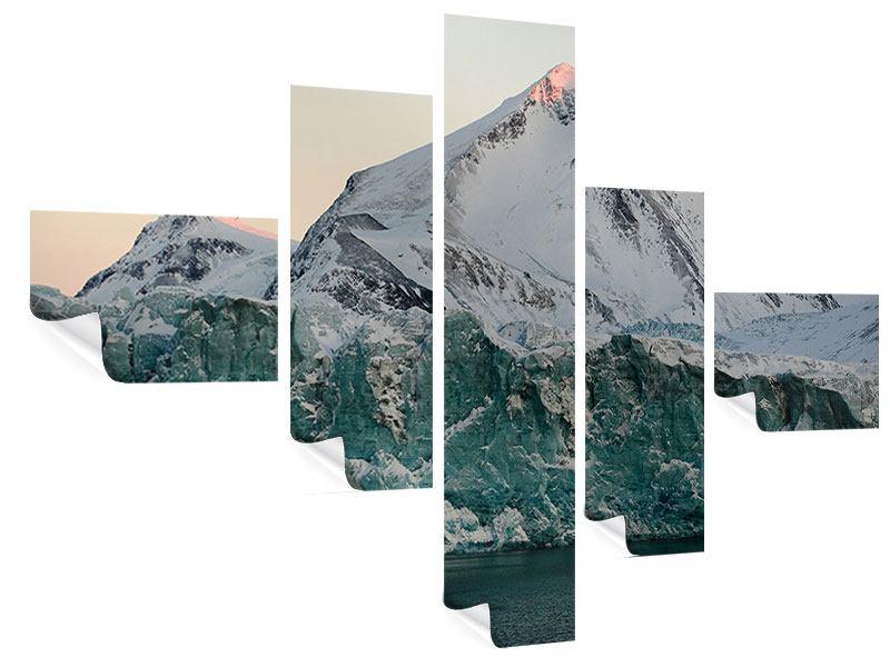 Poster 5-teilig modern Die Antarktis