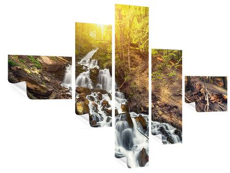 Poster 5-teilig modern Naturschönheit