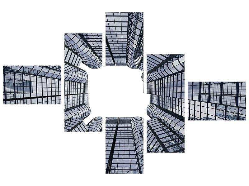 Poster 5-teilig modern Besondere Perspektive
