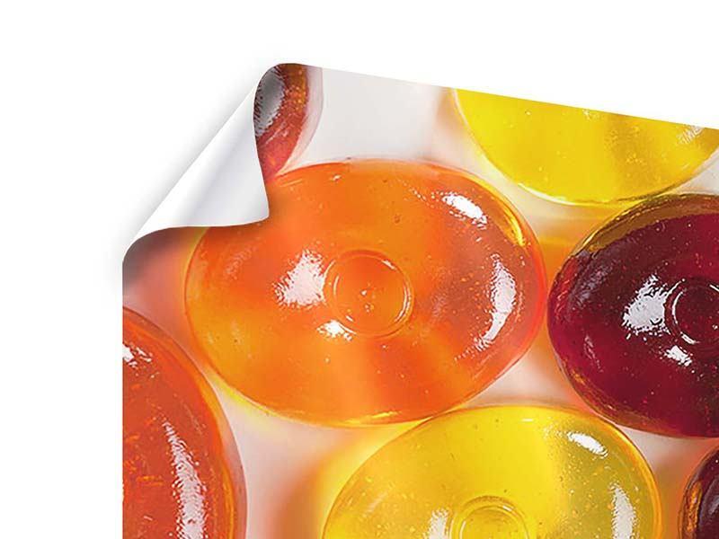 Poster 5-teilig modern Bonbons