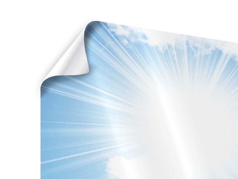 Poster 5-teilig modern Am Himmel