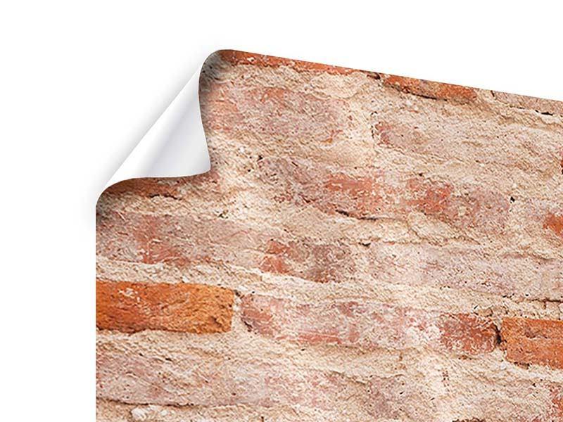 Poster 5-teilig modern Mauerwerk