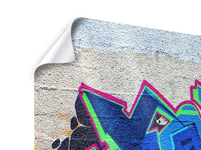 Poster 5-teilig modern Graffiti NYC