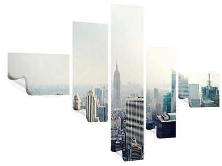 Poster 5-teilig modern NYC