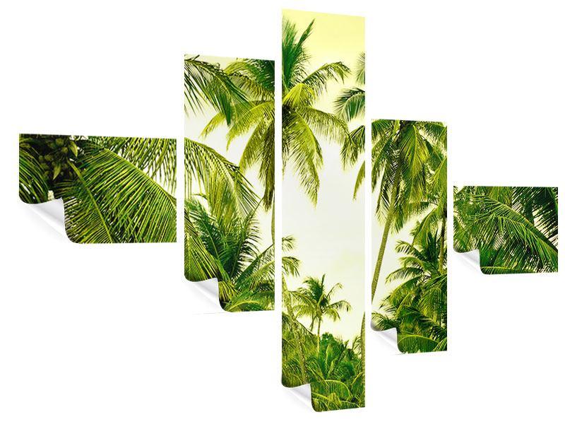 Poster 5-teilig modern Reif für die Insel
