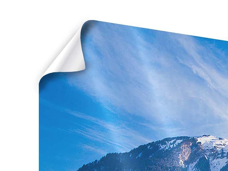 Poster 5-teilig modern Winterwunderland