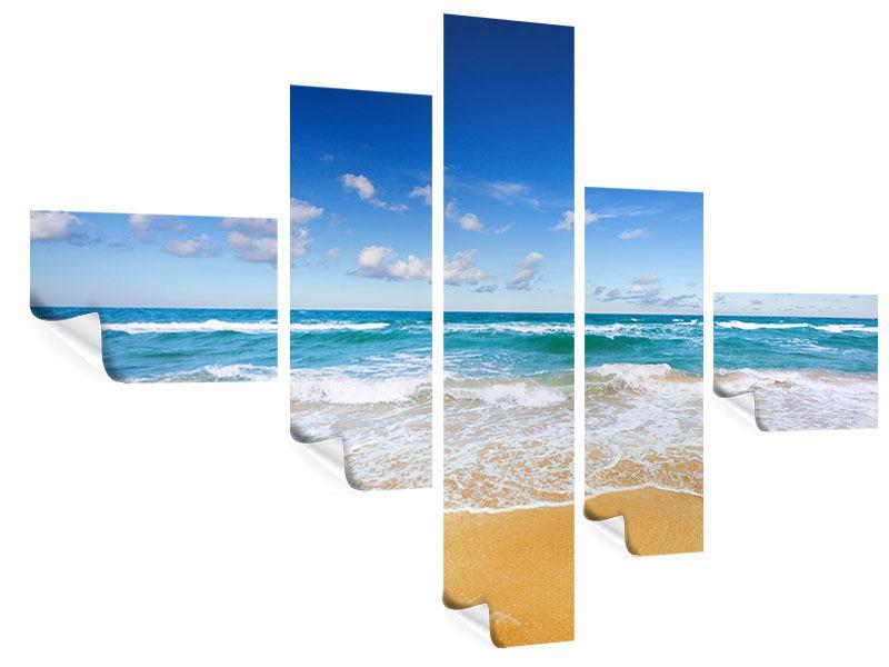 Poster 5-teilig modern Die Gezeiten und das Meer