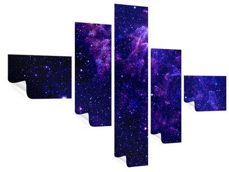 Poster 5-teilig modern Ein Himmel voll Sterne