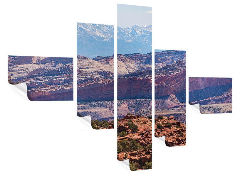 Poster 5-teilig modern Bruce-Canyon-Nationalpark