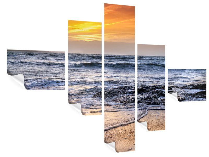 Poster 5-teilig modern Das Meer