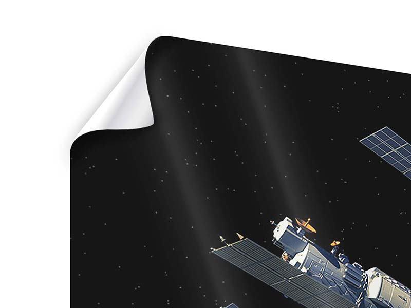 Poster 9-teilig Raumstation