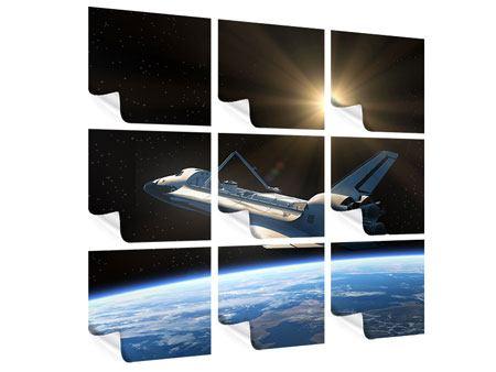 Poster 9-teilig Das Raumschiff