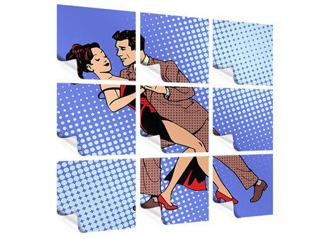 Poster 9-teilig Pop Art Merengue