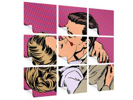 Poster 9-teilig Pop Art Sehnsucht