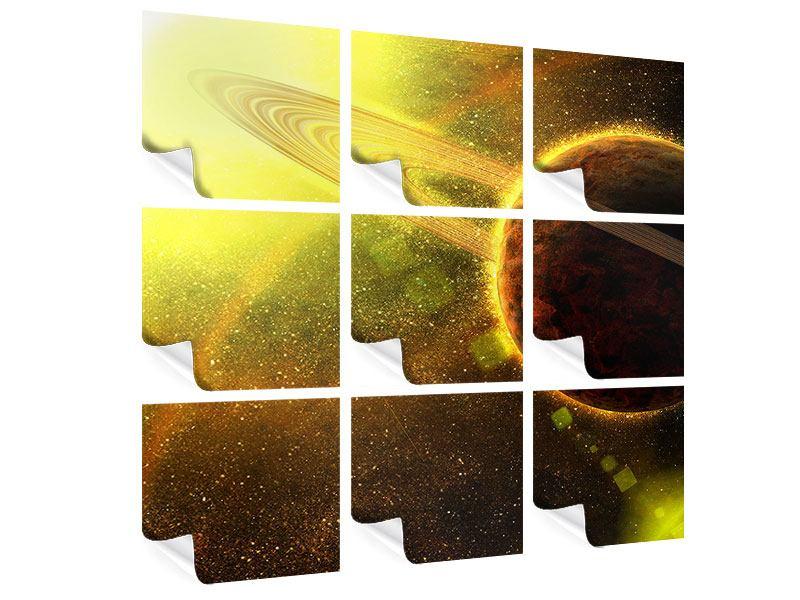 Poster 9-teilig Sterne