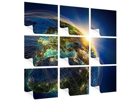 Poster 9-teilig Der Planet Erde