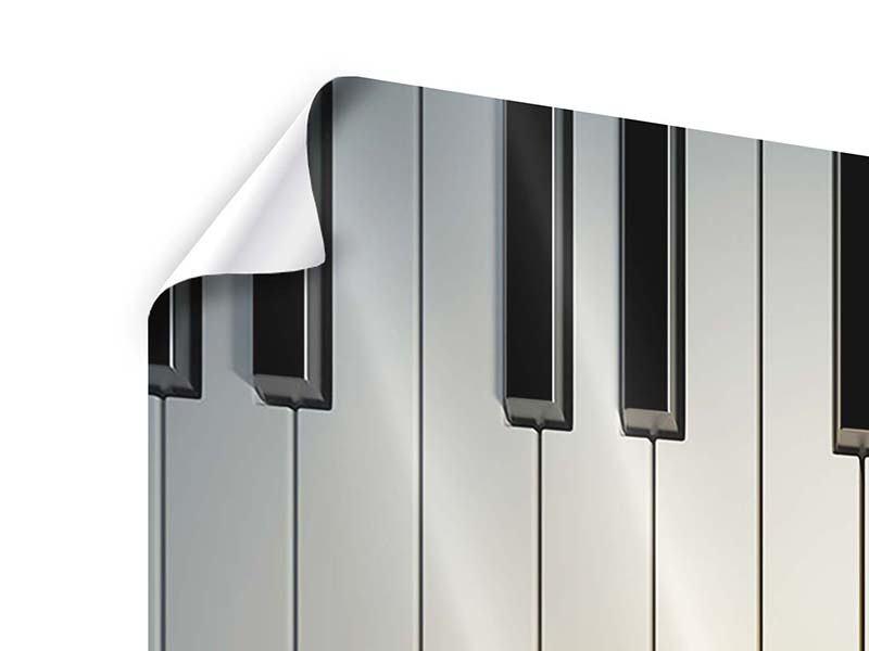 Poster 9-teilig Klaviertasten