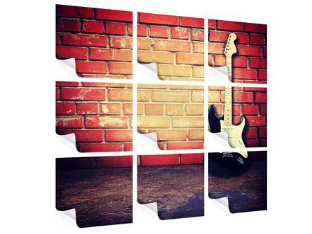 Poster 9-teilig E-Gitarre