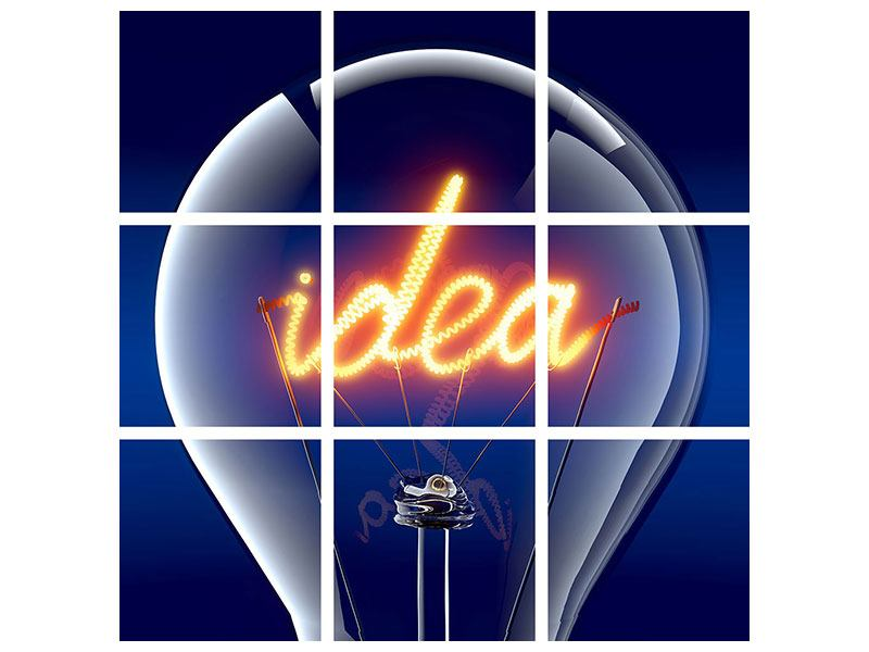 Poster 9-teilig Idea
