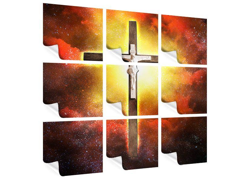 Poster 9-teilig Heiliges Kreuz