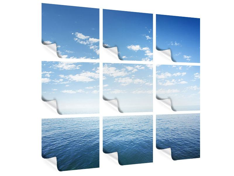 Poster 9-teilig Unendlichkeit Meer
