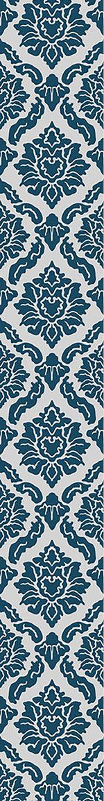 Carta da parati Pop Baroque Blue