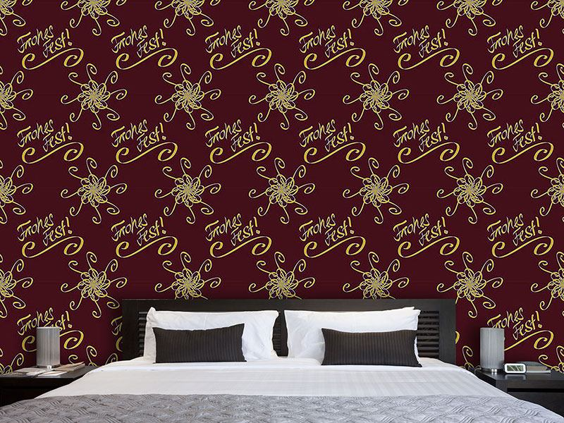 Design Wallpaper Holy Days Brown