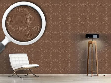 Design Wallpaper Renaissance In Brown