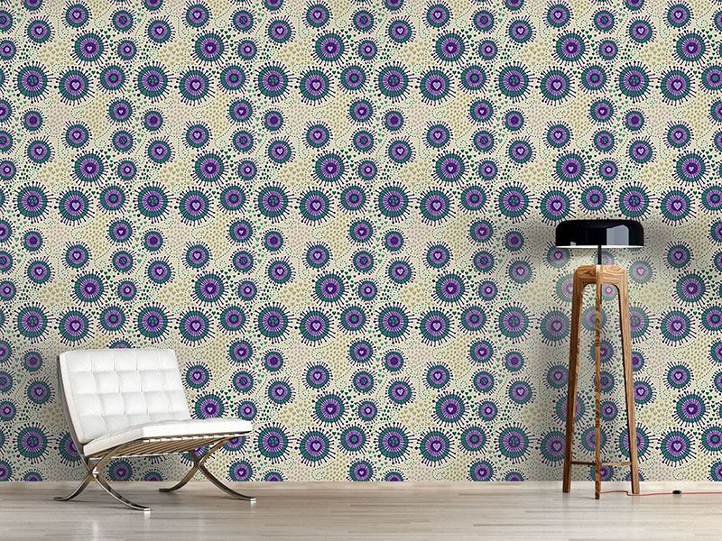 Design Wallpaper Heart Beats Boheme