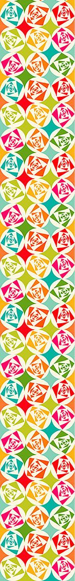Design Wallpaper Square Roses