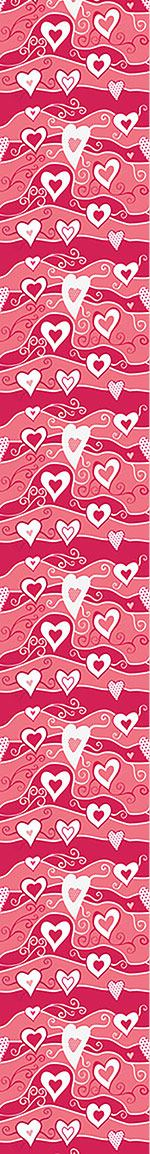 Papier peint design Sea Of Hearts