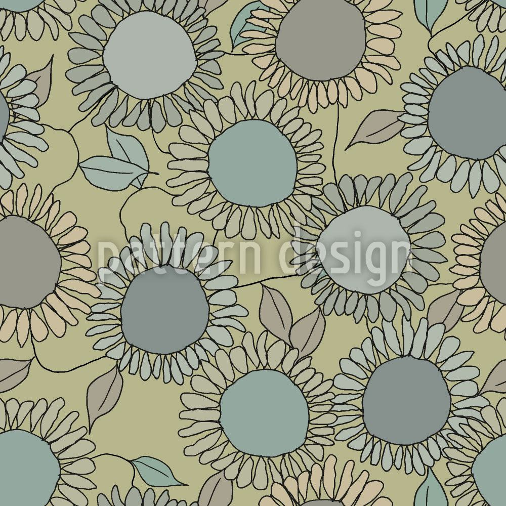 Papel tapiz de diseño Sunflower Joy