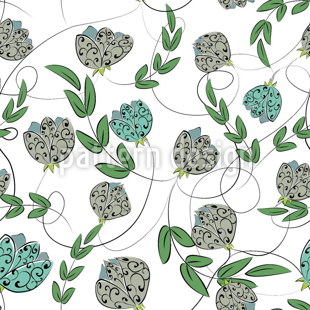 Design Wallpaper Floralie