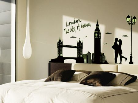 Wandtattoo Love London