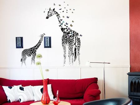 Wall Sticker Giraffe