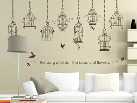 Wall Sticker The Bird Cages
